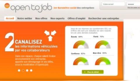 Opentojob : un baromètre social online