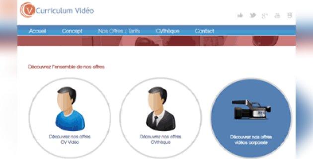 Curriculum-video.com met en scène les entreprises - D.R.
