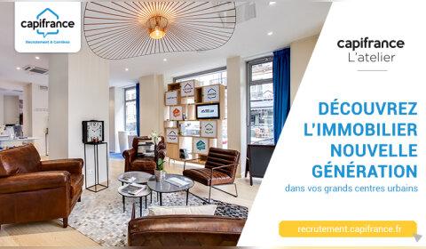 L'offre d'emploi de la semaine: Conseiller immobilier d'un Atelier Capifrance à Montpelier -