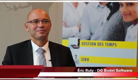 4 min 30 avec Eric Ruty, DG de Bodet Software
