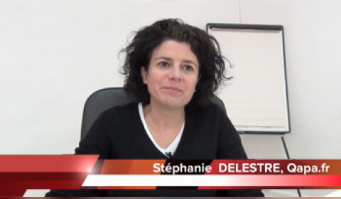 4 min 30 avec Stéphanie Delestre, CEO de Qapa.fr