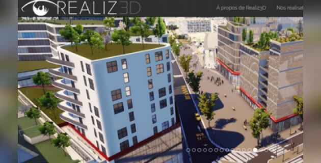 REALIZ3D promeut le Grand Paris avec une maquette 3D innovante - D.R.