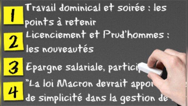 Loi Macron : ce qui va changer