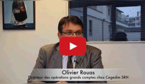 4 min 30 avec Olivier Rouas, directeur des opérations grands comptes chez Cegedim SRH