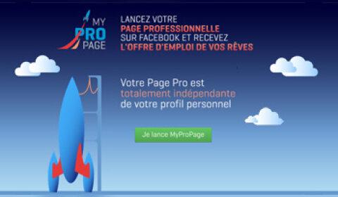 Un profil pro sur Facebook ? Enfin possible avec MyProPage