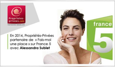 L'audience de Propriétés-Privées.com bondit grâce à sa présence sur TF1
