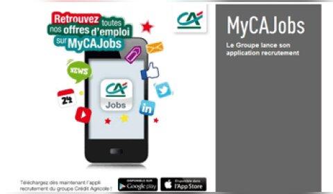 Le groupe Crédit Agricole lance une application mobile de recrutement