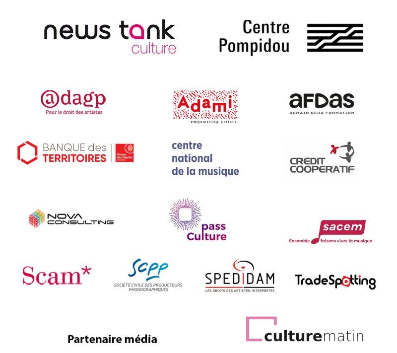 Merci à tous les partenaires de Think Culture 2020!
