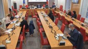 Frédérique Vidal en audition devant la commission culture éducation de l'AN le 27/01/2021 - © D.R.