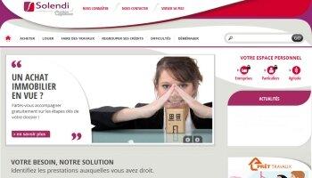 Solendi étoffe ses services sur son nouveau site - D.R.