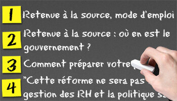 La retenue à la source - D.R.