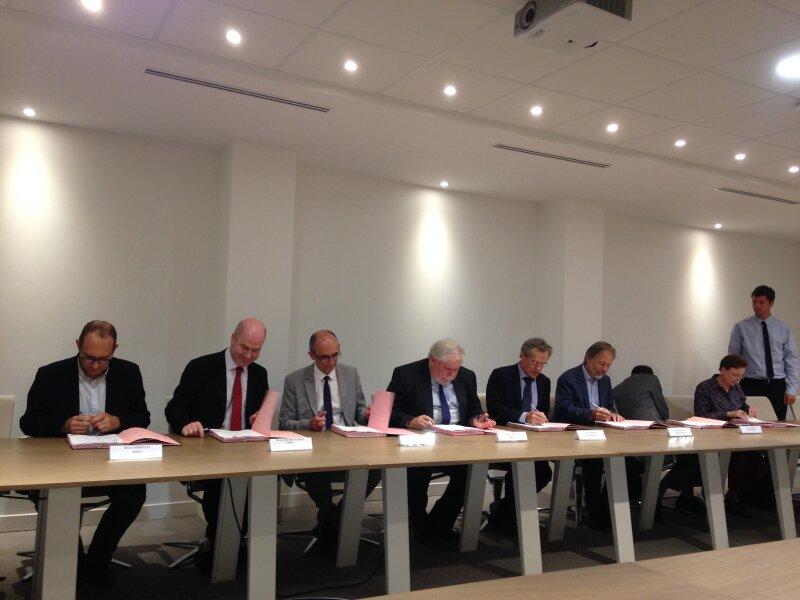 Signature de la convention PSL / CNRS
