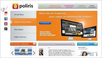 Sites mobiles: Poliris propose une offre simple sur abonnement - D.R.