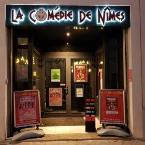 Entrée de la Comédie de Nîmes - © Comédie de Nîmes