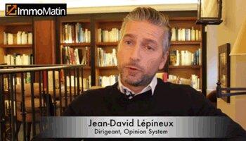 3 min avec Jean-David Lepineux, Opinion System - D.R.
