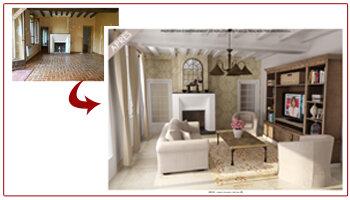 «Home Staging Virtuel®» d' ArchiDeco séduit les grands réseaux immobiliers - D.R.