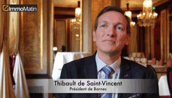 3 min avec Thibault de Saint-Vincent, Barnes - D.R.