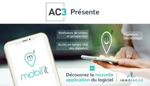 AC3-ImmoFacile lance, Mobil'IT, sa nouvelle application mobile - D.R.