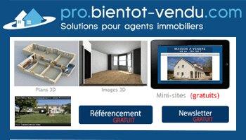Bientot-vendu propose des outils pour décrocher des mandats - D.R.