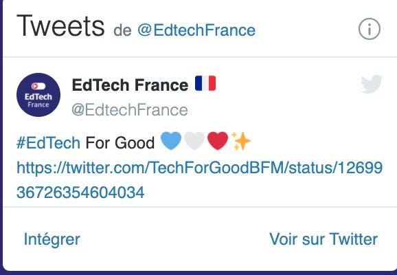 EdTech twitter