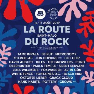 Affiche de la Route du Rock 2019