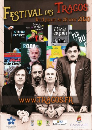 Affiche du Festival des Tragos 2020