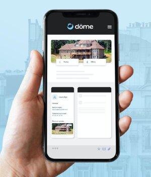 Appli mobile Dôme