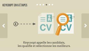 Keycoopt: le recrutement par le réseau à grande échelle - D.R.