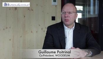 Témoignage Vidéo: «BureauxLocaux.com est un outil indispensable» Guillaume Poitrinal, WOODEUM - D.R.