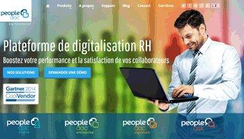 Novapost devient officiellement PeopleDoc - D.R.