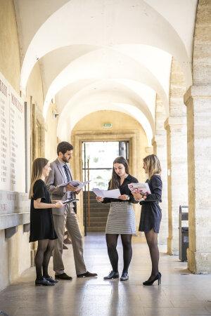 Étudiants de la faculté de droit de Montpellier