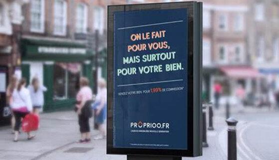 Proprioo fait campagne pour présenter son nouveau modèle à 1.99% - D.R.