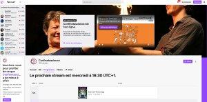 Confinetascience est le compte Twitch de l'Espace Pierre-Gilles de Gennes dédié à promouvoir la recherche à ESPCI ParisTech et à PSL et de l'association Traces