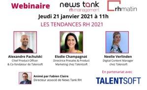 Webinaire News Tank RH et Talentsoft: suivez les tendances RH 2021