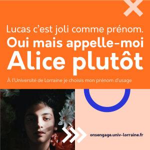 Campagne de communication partagée sur les réseaux sociaux - © Université de Lorraine