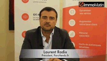 3 min avec Laurent Radix, président de ParuVendu.fr - D.R.