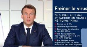 Macron: la douche froide nécessaire pour freiner le virus Covid-19 - © Elysée