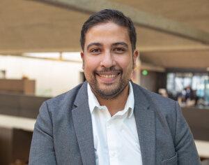 Ali El Hariri, cofondateur de BulldozAIR - © Margaux Demaria