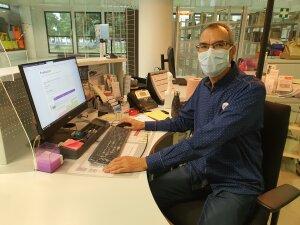 Travailler en université était une vraie vocation pour Ali Boukou qui a tenté de nombreuses fois les concours