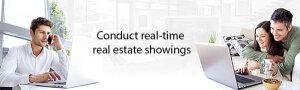 LiveRoom®: la technologie qui permet de visiter un bien à distance avec son agent immobilier - © D.R.