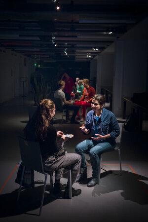 Les «Robots» du GK Collective à la Gaîté Lyrique (Paris 3e) - © Quentin Chevrier