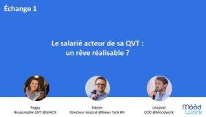 Webinar QVT par Moodwork: les intervenants