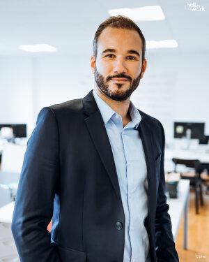 Jérémy Plasseraud directeur commercial de l'activité edtech chez HelloWork