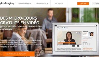 Academyk, la nouvelle plate-forme de micro-cours gratuits pour la gestion de carrière - D.R.