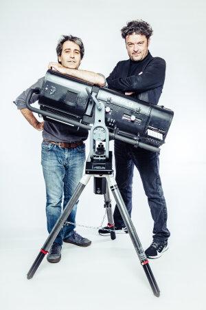 Bernard Garabedian du Studio Novum et Sebastien Beslon de l'Européen