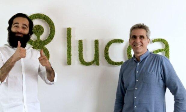Charles de Fréminville, CEO de Bloom at Work, avec Gilles Satgé, CEO de Lucca - © D.R.