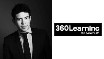 «Notre plate-forme LMS multiplie les interactions entre les formateurs et les apprenants», Nicolas Hernandez, 360Learning - D.R.