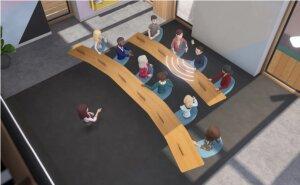 Un exemple de configuration de salle. - © Facebook