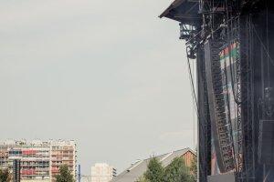 Une scène montée par B Live à Rock En Seine à Saint Cloud (92)
