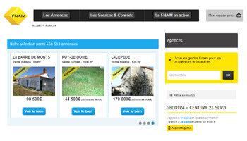 La Fnaim propose des sites clés en main à partir de 29 euros par mois - D.R.